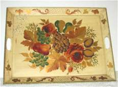 67 Hand Painted Tin Tole Tray