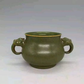 A Song Dynasty Style Porcelain Censer