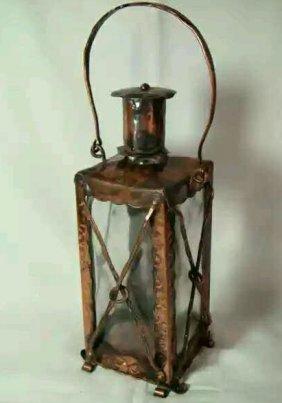 Old Bronze Lantern