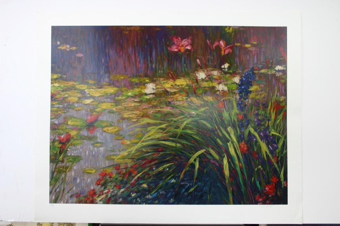 GREG SINGLEY, Title: Lily Pond, Limited Edition