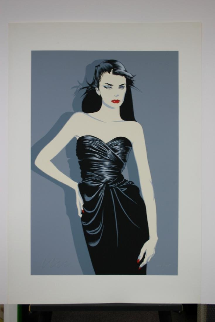 ROBERT BLUE, Title: Monica, Limited Edition Serigraph