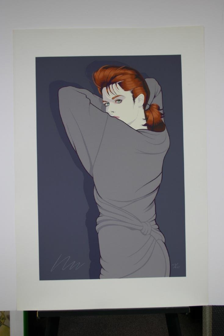 ROBERT BLUE, Title: Julia, Limited Edition Serigraph on