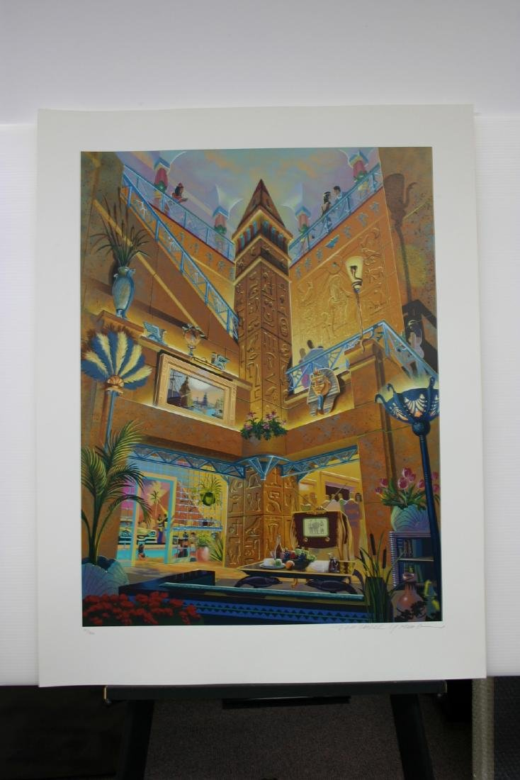 MICHAEL YOUNG, Title: Treasures of the Nile, Limited