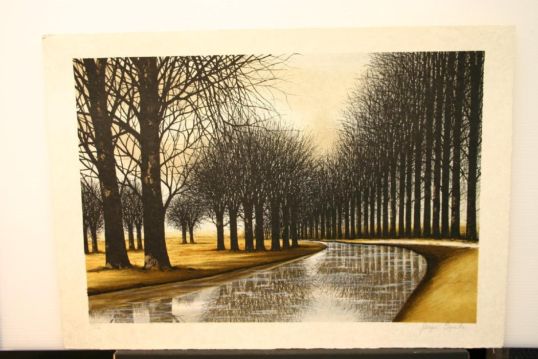 JACQUES DEPERTHES, Title: Le Canal, Limited Edition
