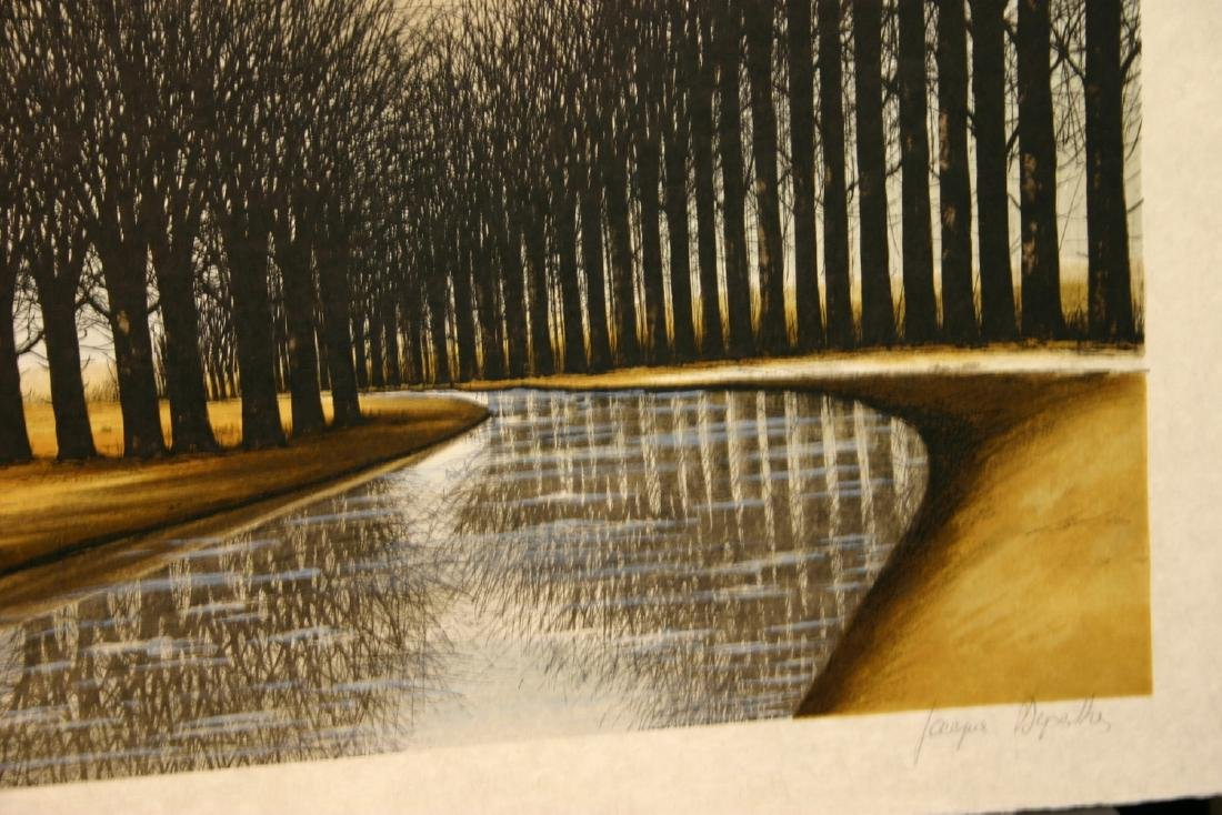 JACQUES DEPERTHES, Title: Le Canal, Limited Edition - 2