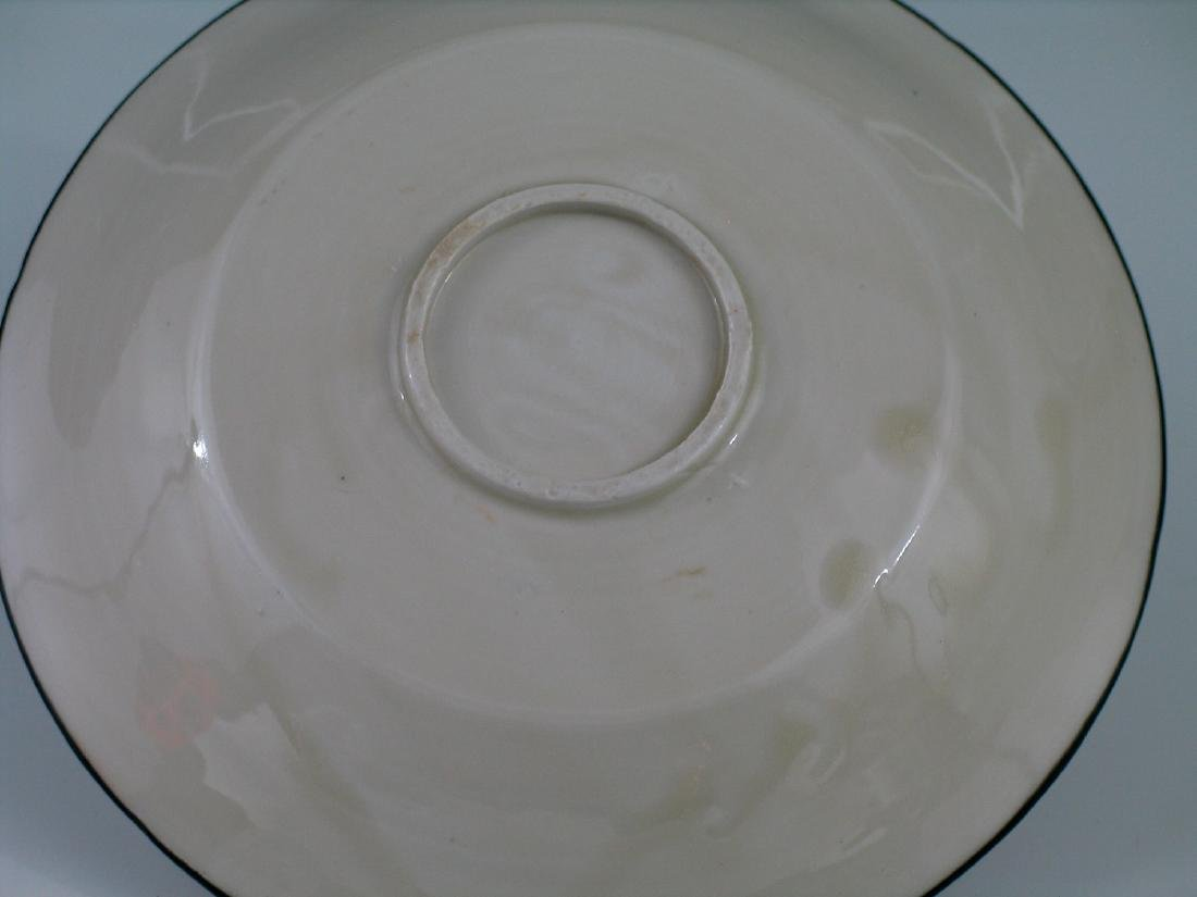 Chinese Ding Ware porcelain plate. - 3