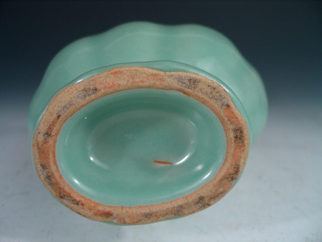 Chinese Celadon porcelain vase. - 4