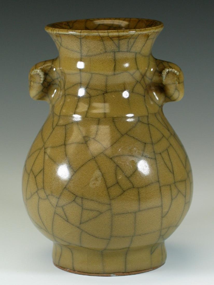 Chinese crackle glazed porcelain vase