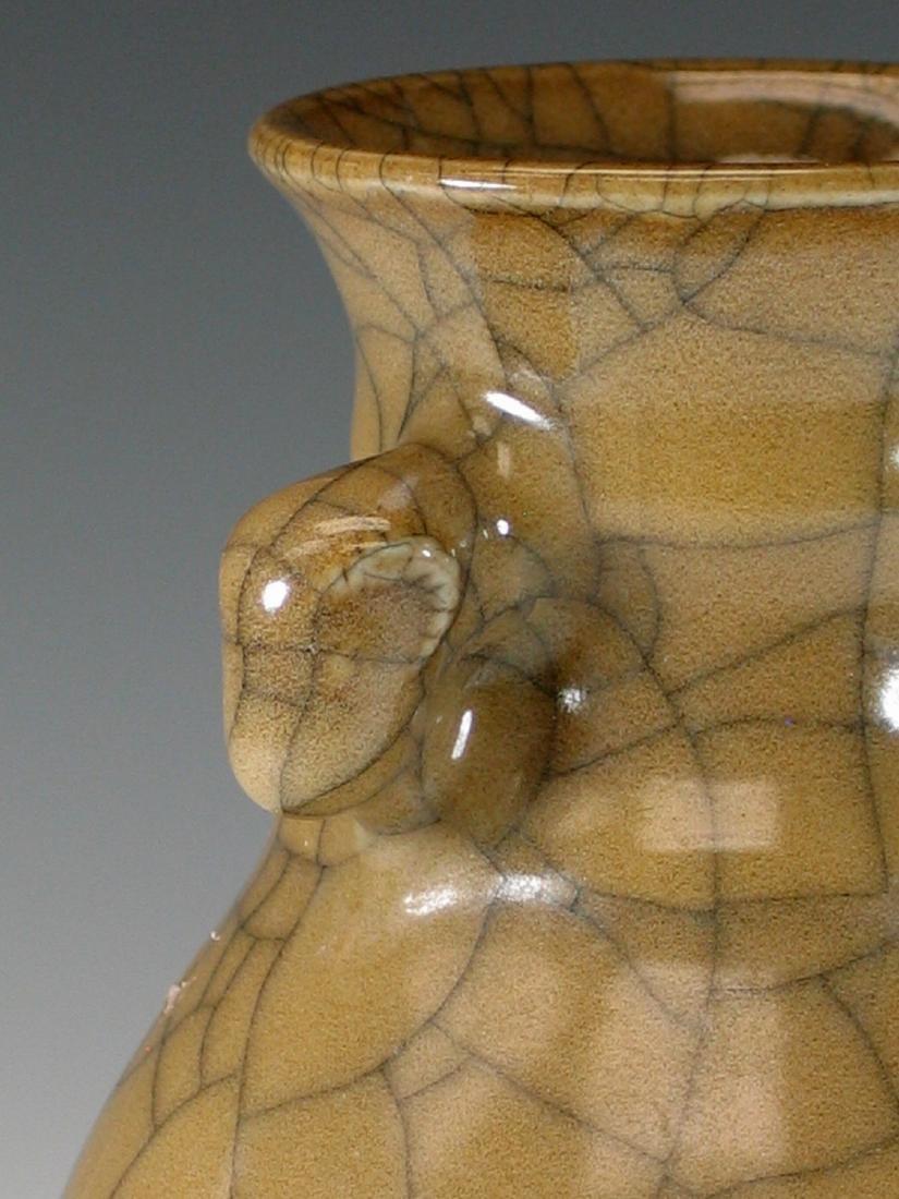 Chinese crackle glazed porcelain vase - 5