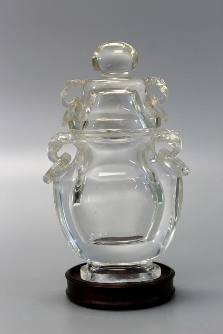 Carved rock crystal vase qing dynasty chinese carved rock crystal vase qing dynasty reviewsmspy