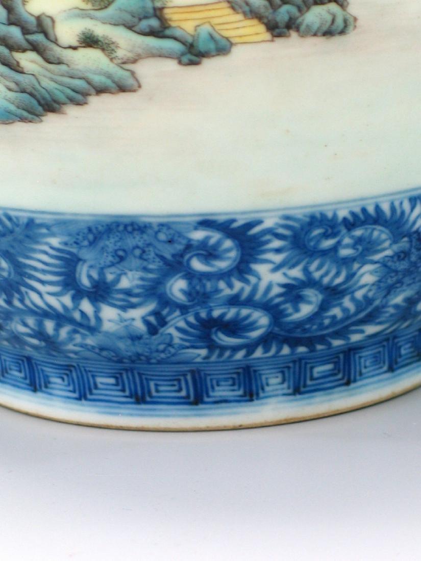 Chinese famille rose porcelain vase, Qianlong mark. - 4