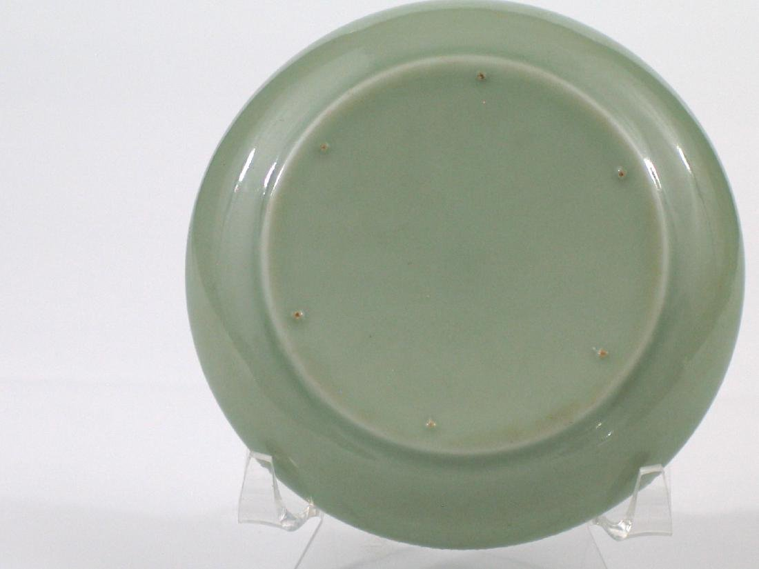 Chinese celadon porcelain box. - 3