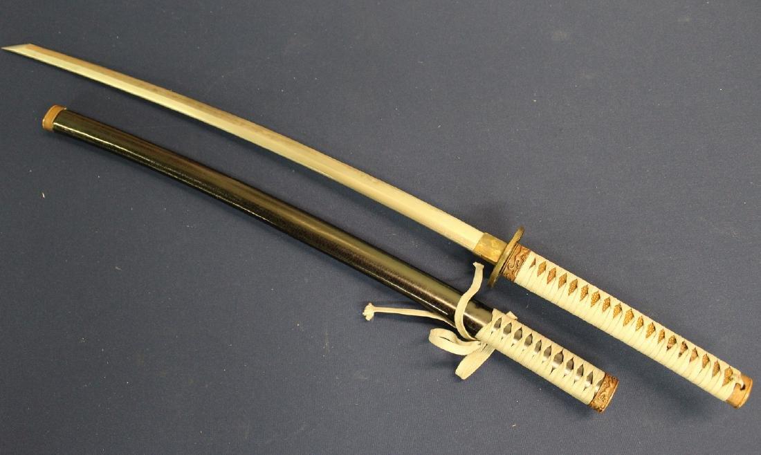 Japanese samurai sword. - 2