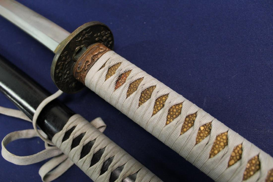 Japanese samurai sword. - 3