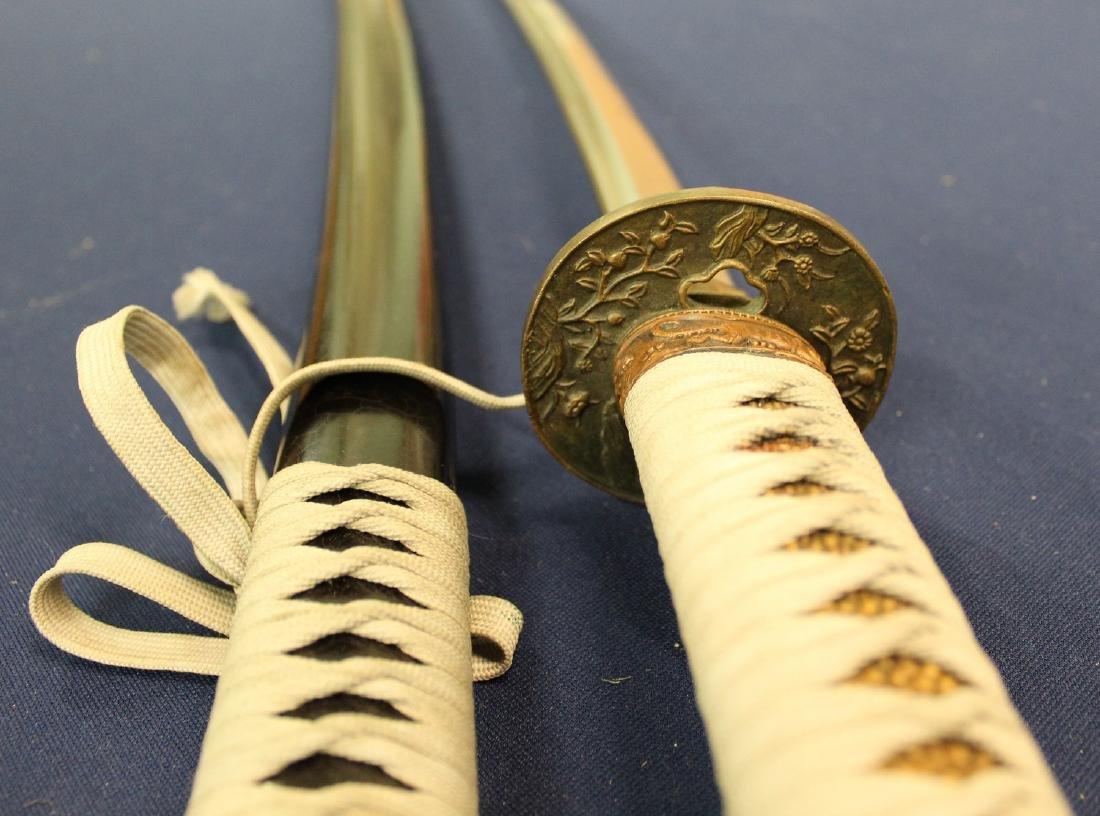 Japanese samurai sword. - 4