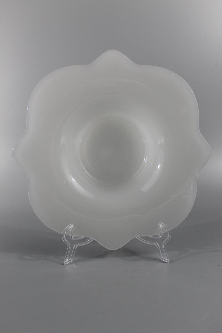 Peking glass dish.