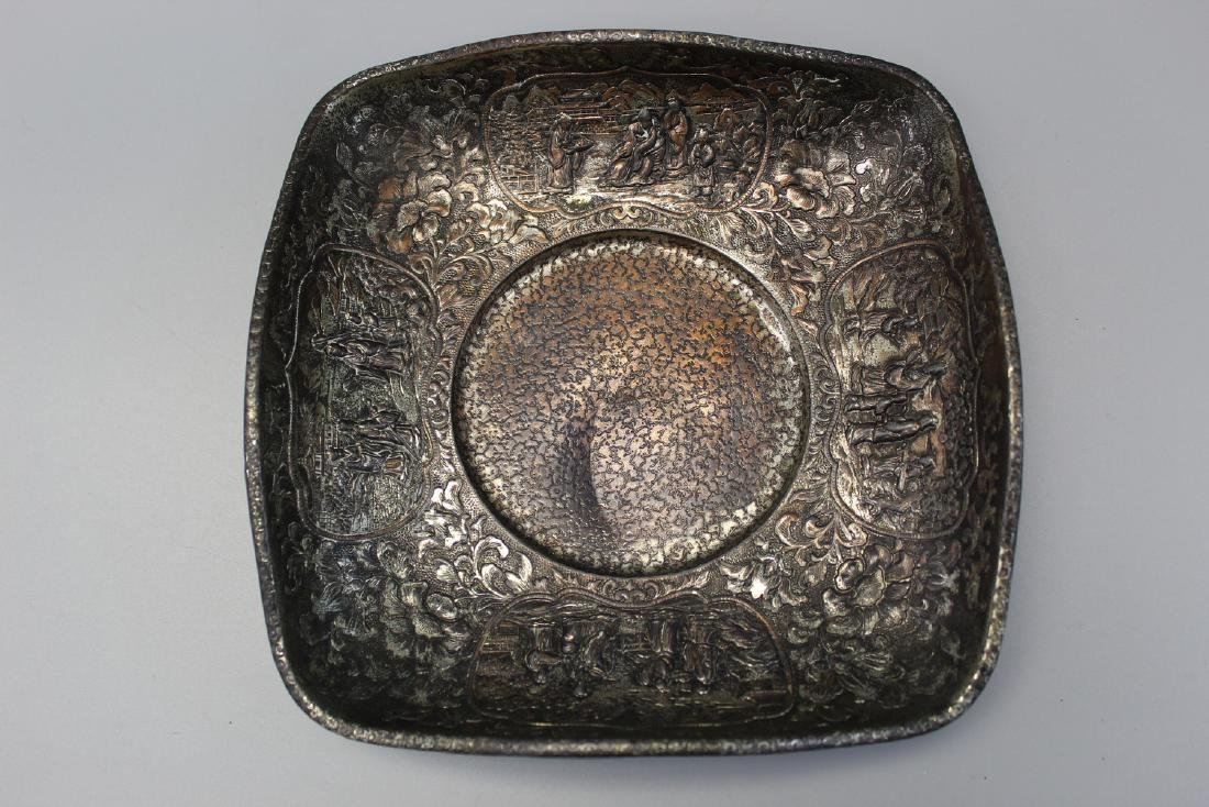 Japanese metal dish.
