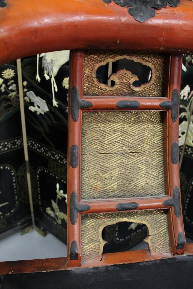 Japanese temple chair. - 3