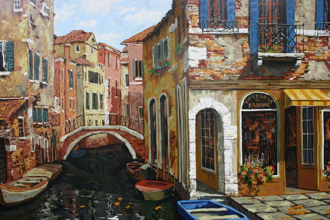 "VIKTOR SHVAIKO, Title ""Autumn in Venice"" Limited"