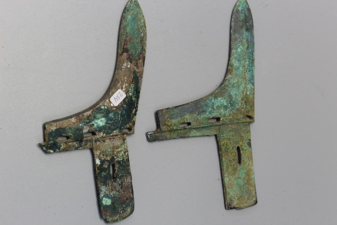 Ancient Chinese bronze Ge, possibly Western Zhou