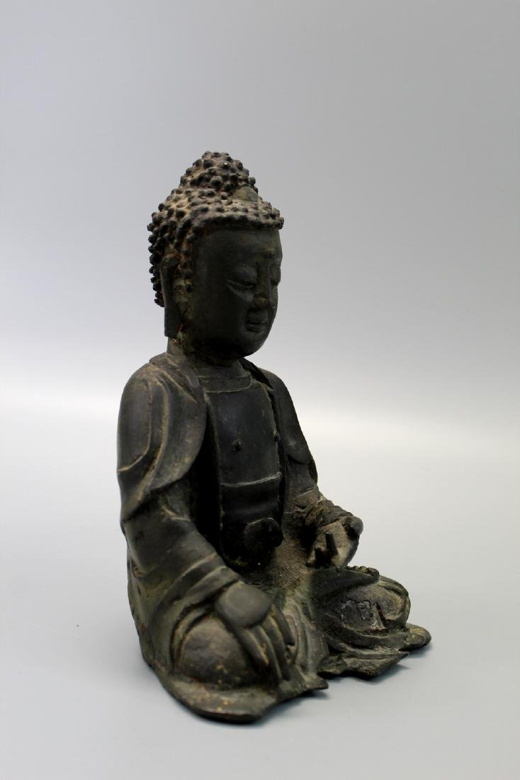 Chinese bronze figure, Ming Dynasty. - 2