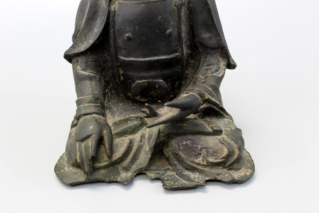 Chinese bronze figure, Ming Dynasty. - 3