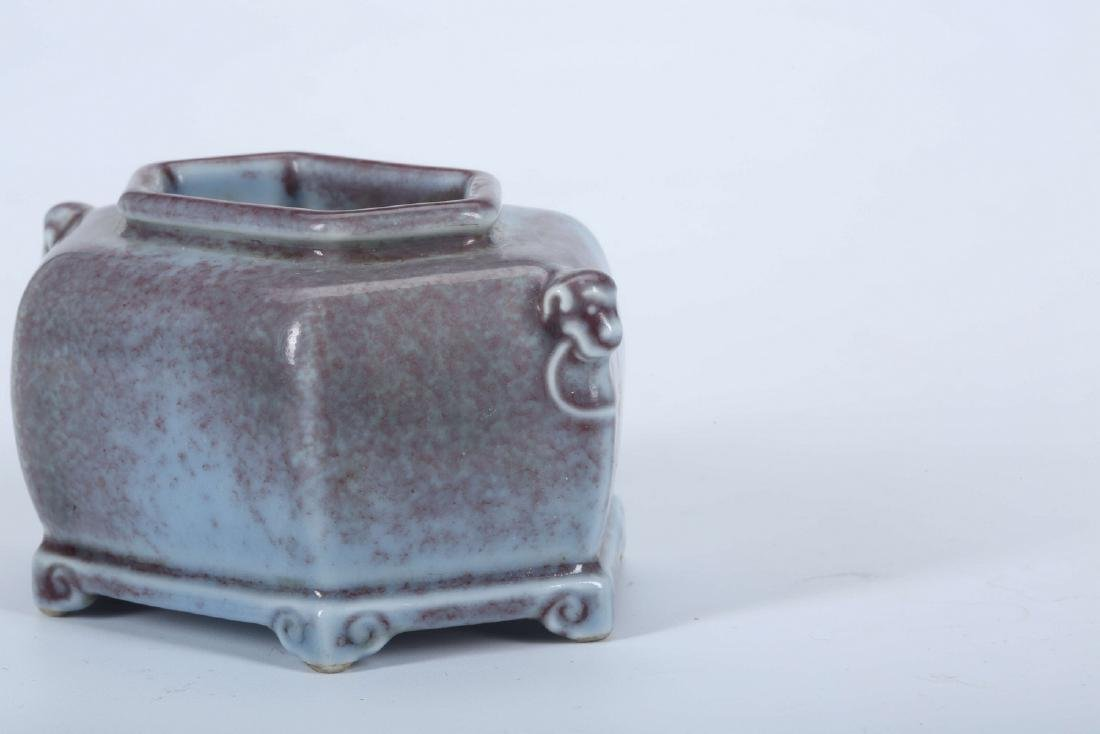 Chinese porcelain brush washer, Yongzheng mark. - 5