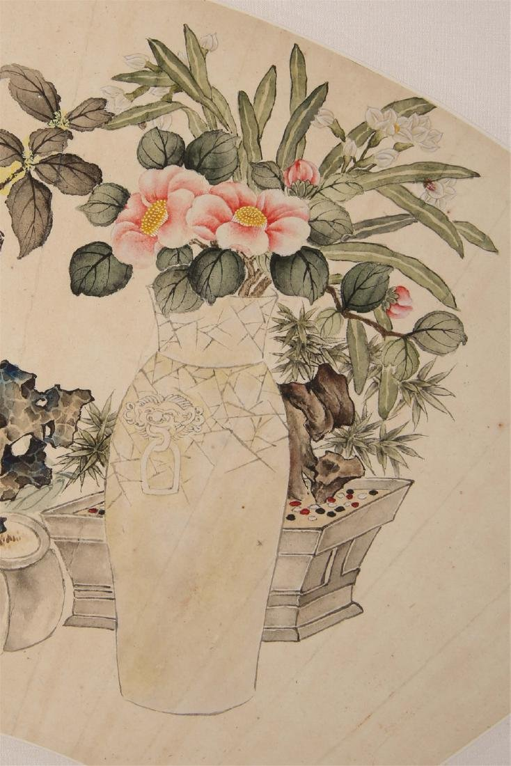 Chinese water color painting on paper, attributed to - 5