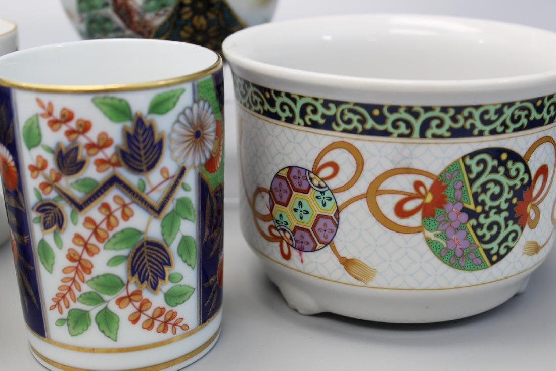 A group of Asian porcelain bowls and cups. - 2