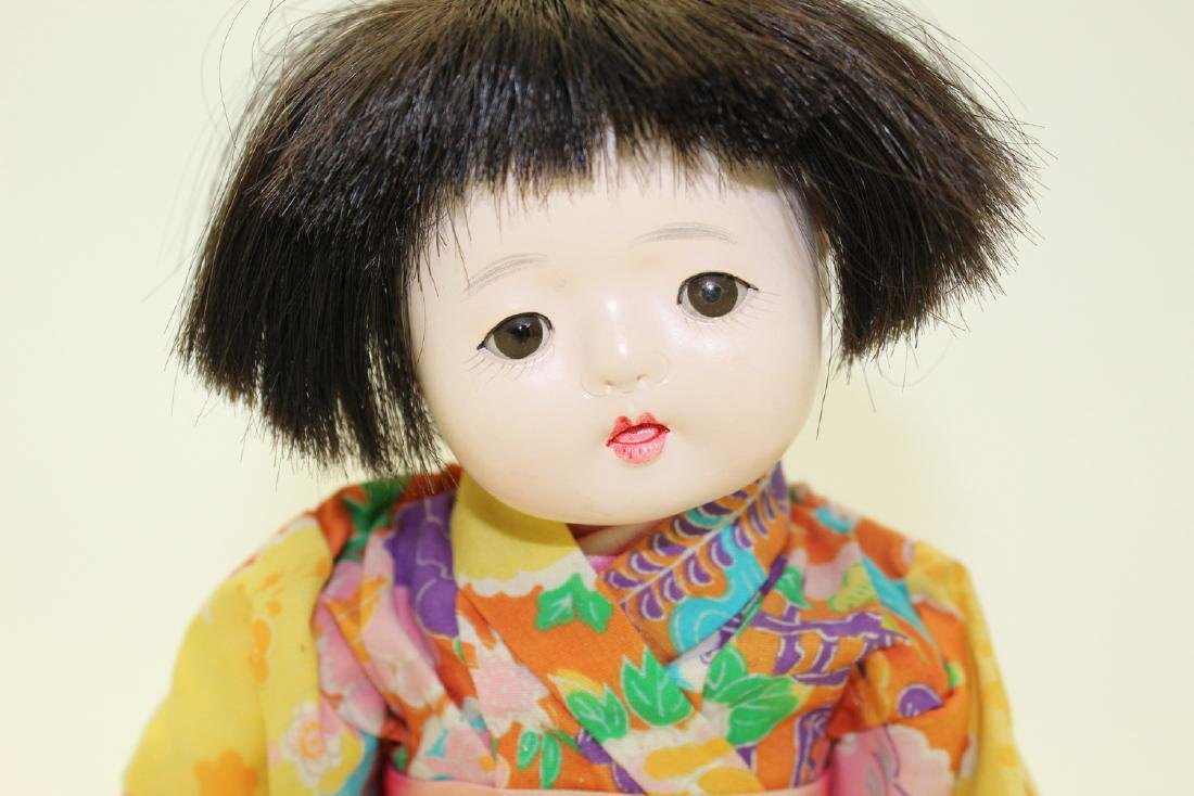 Vintage Japanese Clay Doll - 2