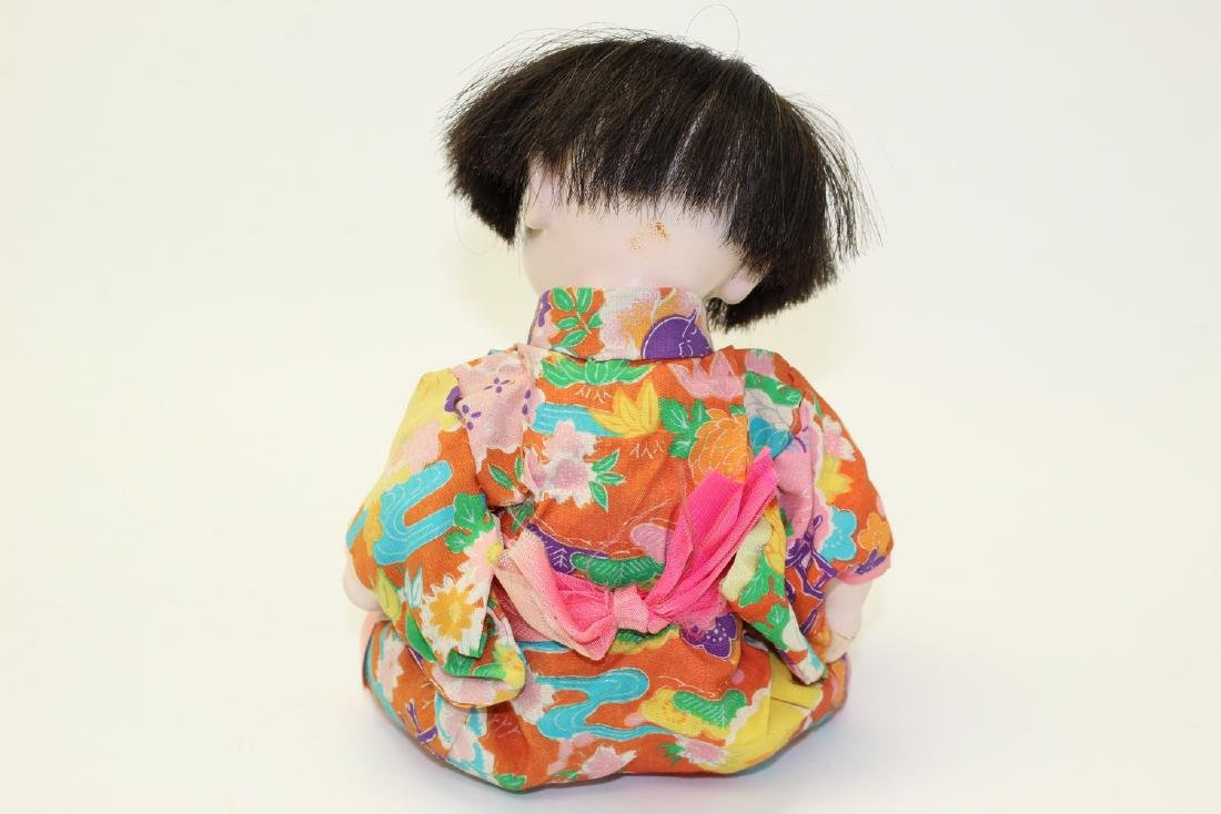 Vintage Japanese Clay Doll - 3