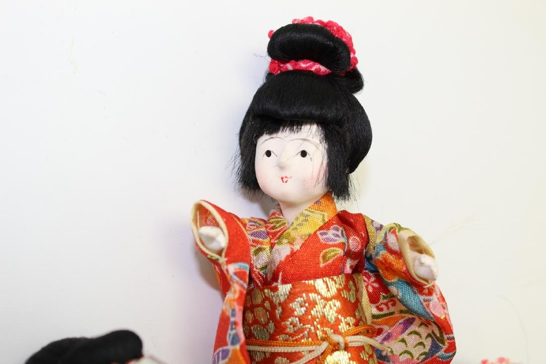 Vintage Japanese Doll with 3 wigs. - 2