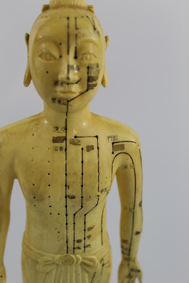 Vintage Chinese Acupuncture Doll - 2
