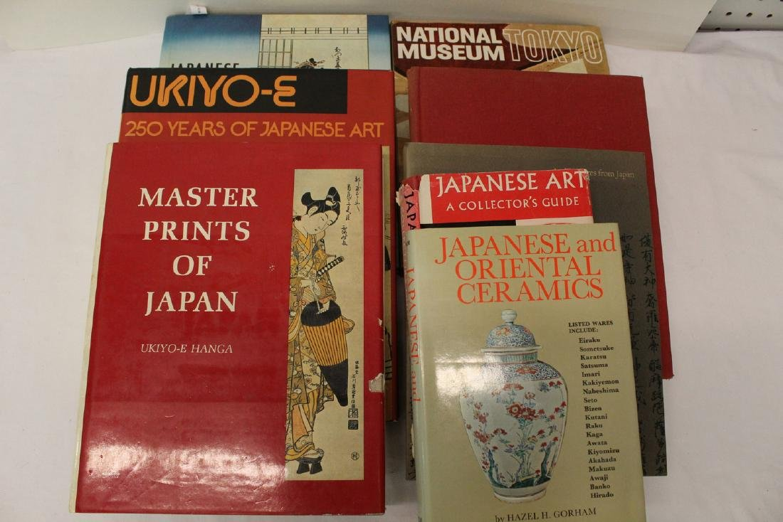Group of Japanese art and museum reference books. ( - 2