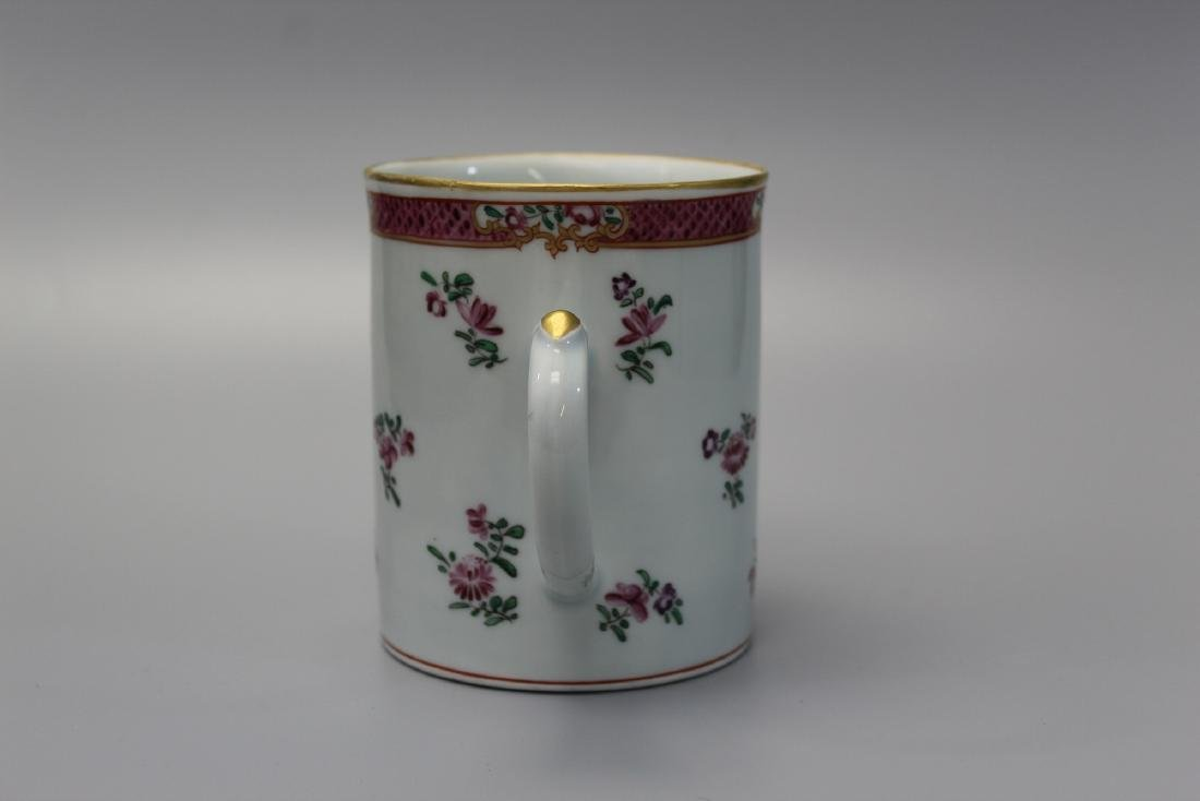 Chinese export armorial porcelain mug. - 4