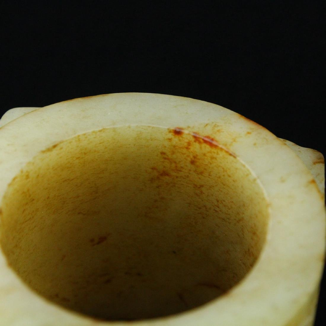Chinese carved jade Cong. - 5