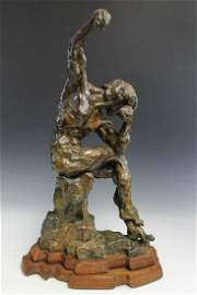 """""""The Victorious Gladiator"""" Tim Holmes (American, born"""