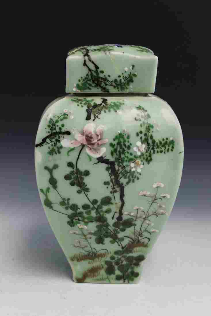 Japanese Porcelain Jar