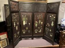 Four panels from Kessinger's secretary-family