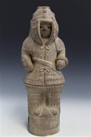 Japanese Pottery Figure