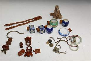 Chinese Bird Cage Parts
