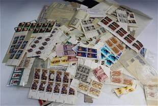 Unused US Postage Stamps.