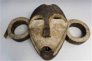 Antique/Vintage Boa Mask from D R Congo.