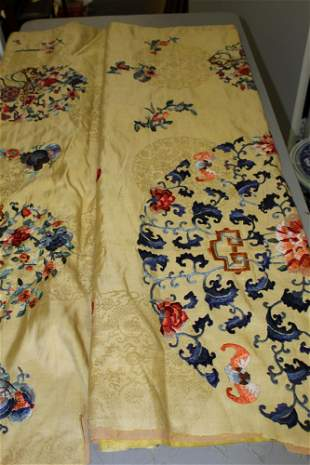 Chinese Embroidery Silk Piece