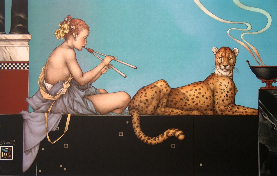 Dusk, by Michael Parkes. Artist signed Limited Edition