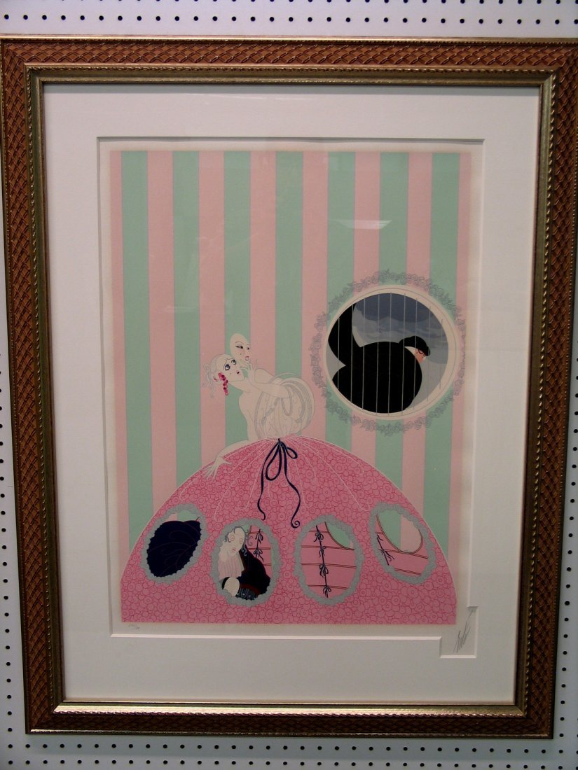 Limited Edition Serigraph signed by the artist Erte. - 2
