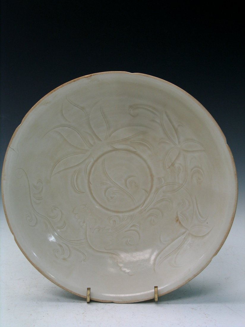 Chinese Ding Ware Porcelain Bowl.