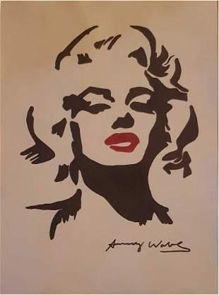 ANDY WARHOL (1928-1987) Marilyn Monroe
