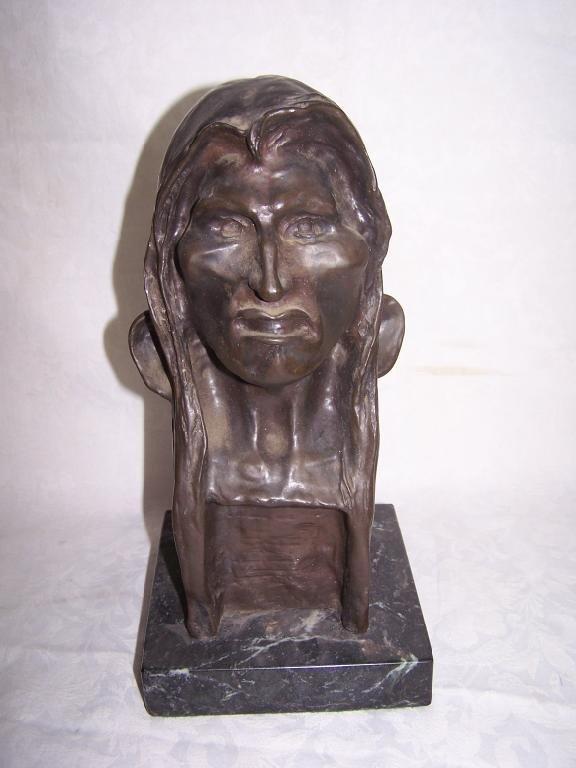 Bronze Indian Head