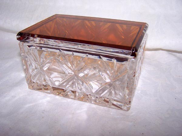 Covered Jewelry Box